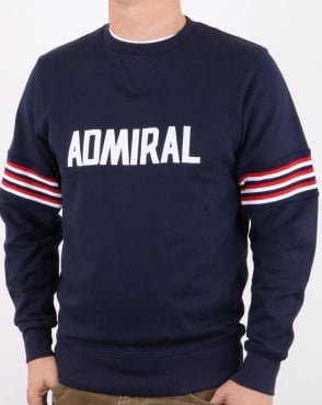 Admiral 1974 Sweatshirt Navy/red