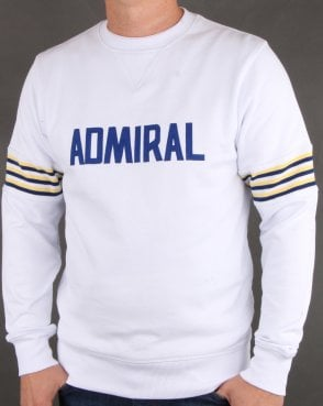Admiral 1974 Sweatshirt White/lemon