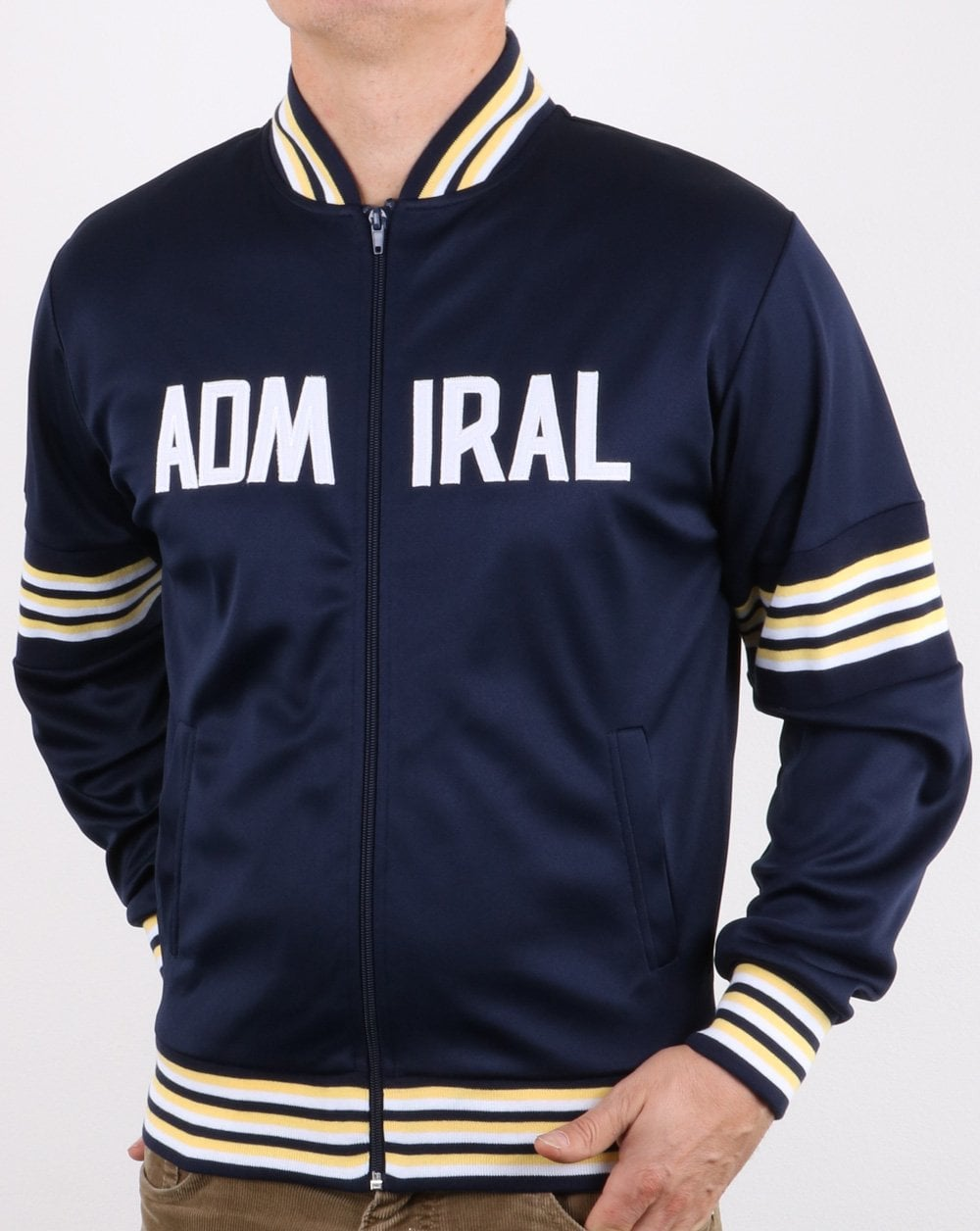 Admiral 1974 Track Jacket White//lemon