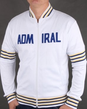 Admiral 1974 Track Jacket White/lemon