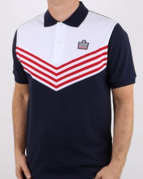 Admiral 1976 Polo Shirt Navy/red