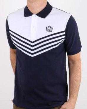 bc786854b Admiral, 1982, Polo Shirt, White/lemon, Mens, Football, Leeds, Smart
