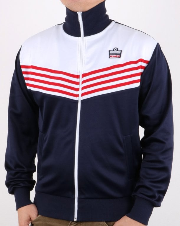 Admiral 1976 Track Jacket Navy/red