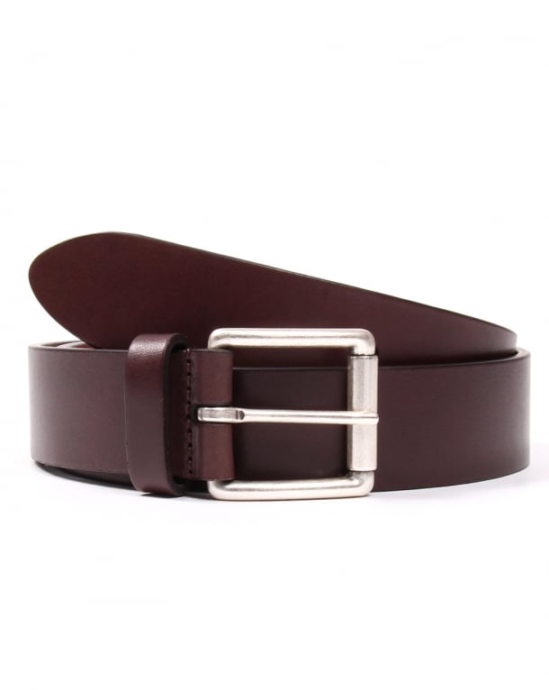 Andersons Calf Leather Belt Brown