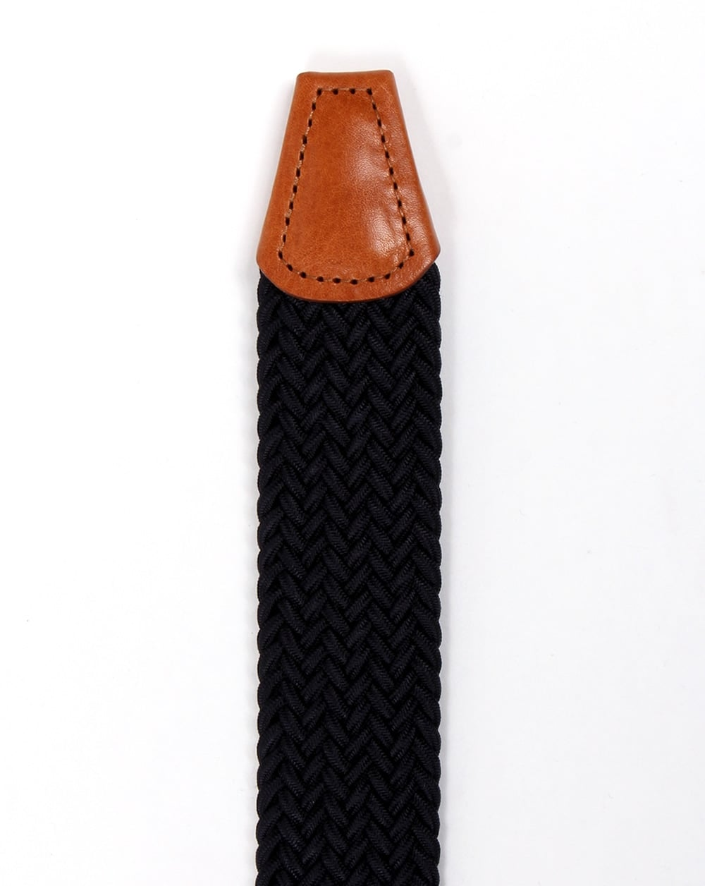 c85e7f06efdc Andersons Woven Leather Trim Belt Navy tan - Other Accessories from ...