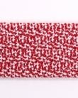 Andersons Belts Andersons Woven Leather Trim Belt Red
