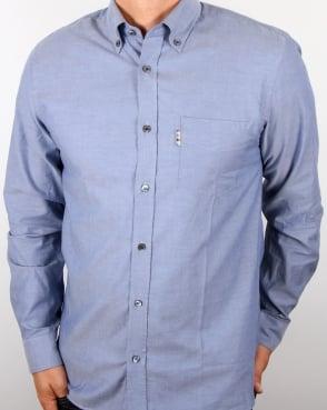 Aquascutum Ashford Oxford Shirt Navy