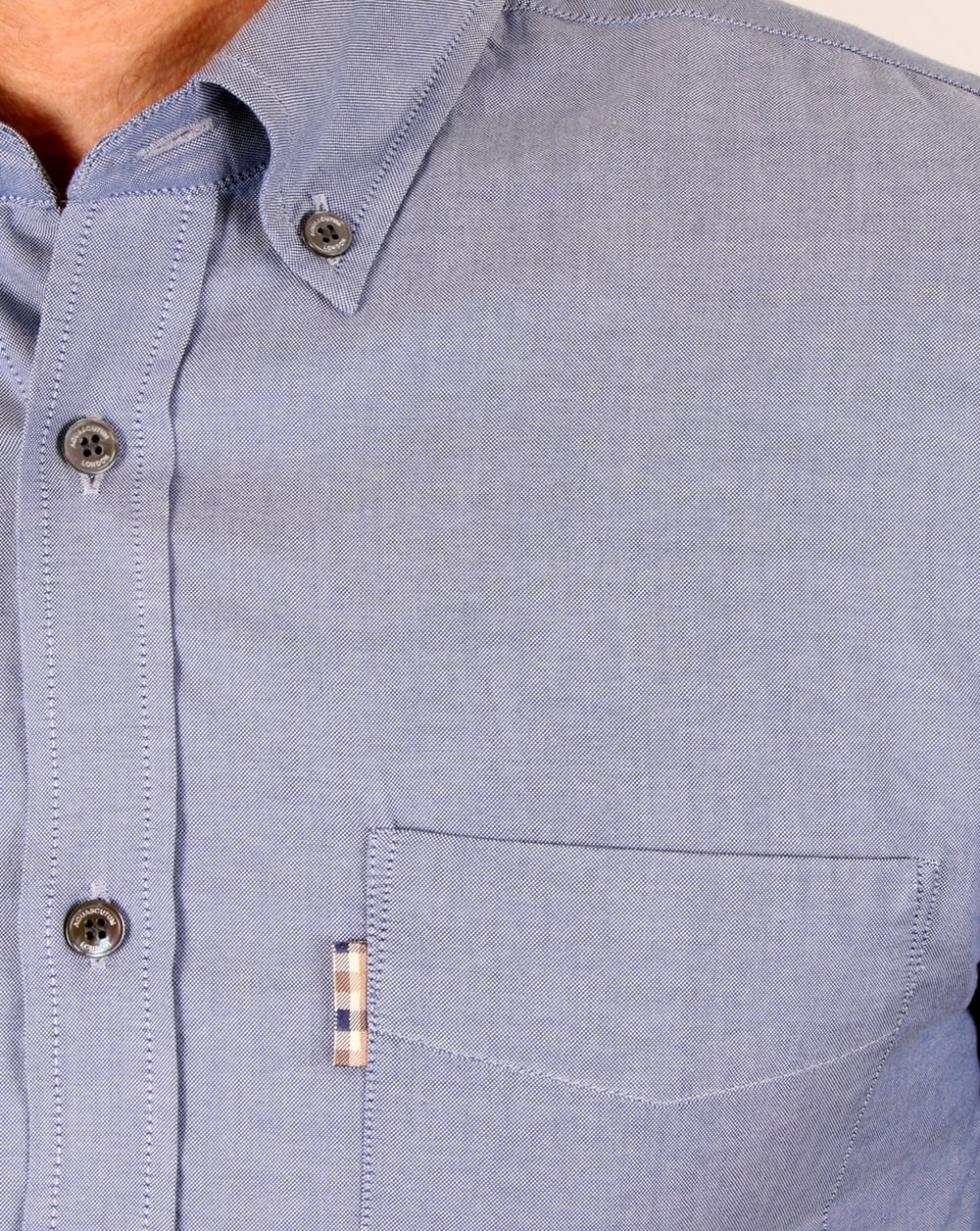 Mens Long Sleeve Oxford Shirts