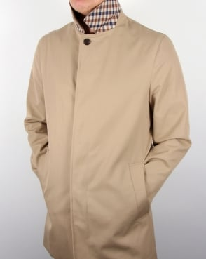 Aquascutum Berkeley Raincoat Camel