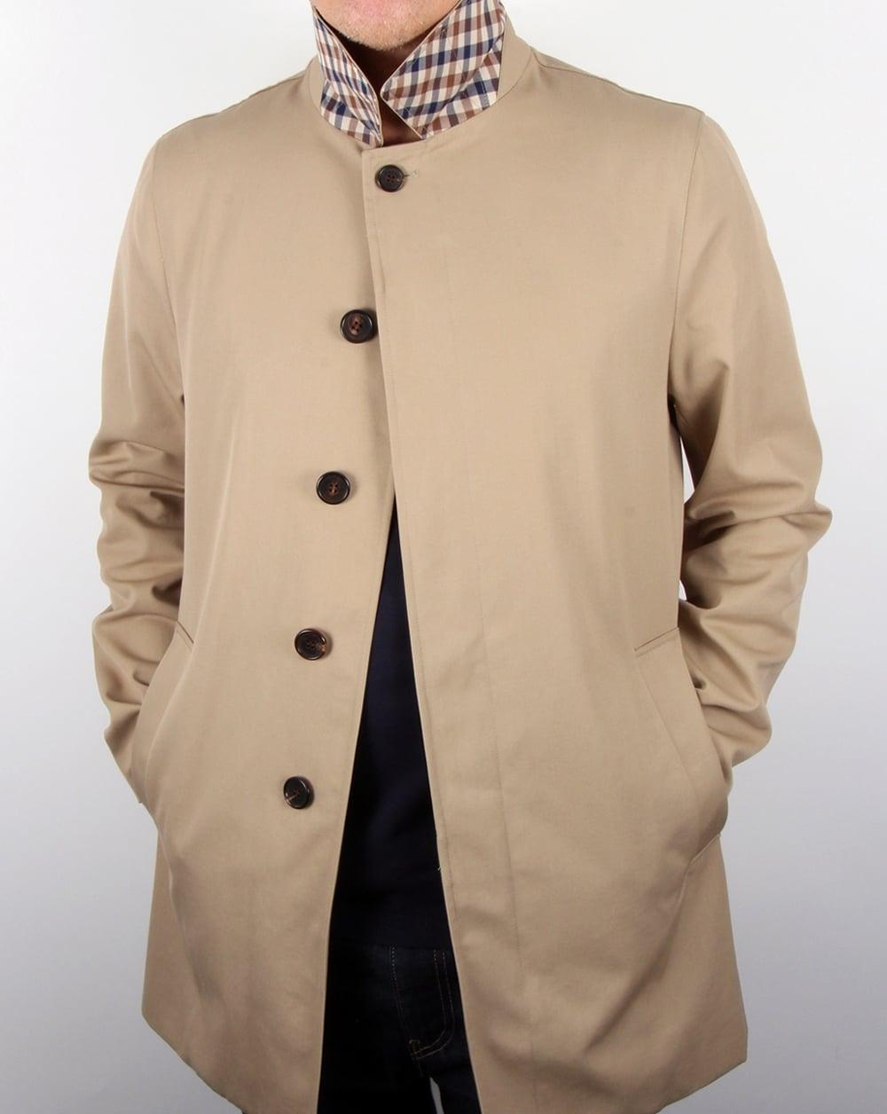 Aquascutum Berkeley Raincoat Camel,trench,mens,jacket,mac