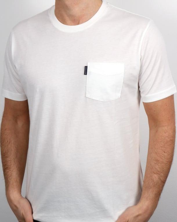 Aquascutum Cullen T Shirt Chalk