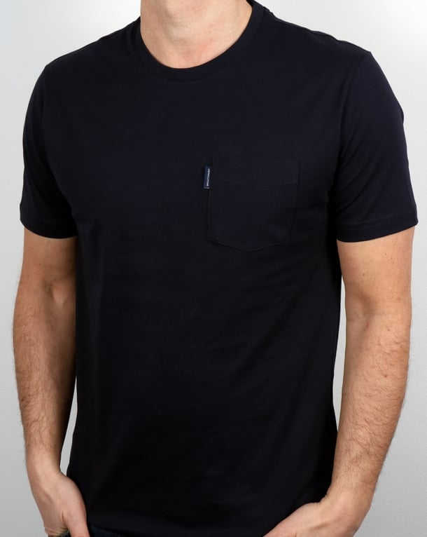 Aquascutum Cullen T Shirt Navy