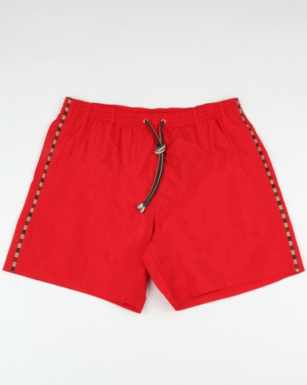 Aquascutum Dante Swim Shorts Coral Red