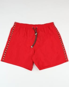 Aquascutum Dante Swim Shorts Coral Red