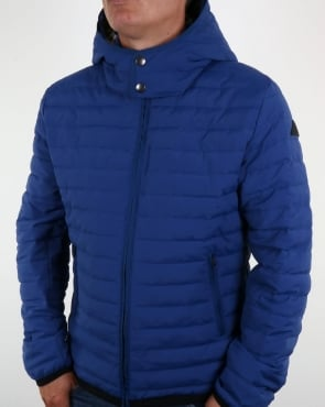 Aquascutum Emmett Quilted Jacket Bright Blue