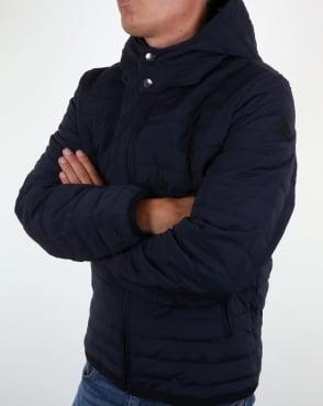 Aquascutum Emmett Quilted Jacket Navy