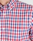 Aquascutum Emsworth Check Shirt Red/White/Navy