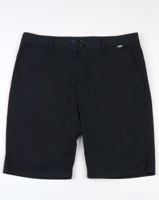 Aquascutum Gowan Lightweight Cotton Shorts Navy