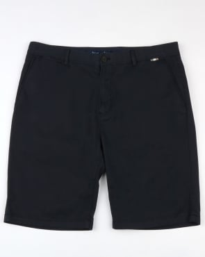 Aquascutum Gowan Lightweight Cotton Shorts Navy