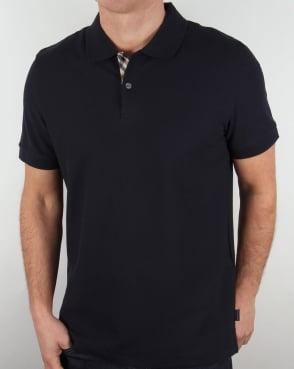 Aquascutum Hector Polo Shirt Navy