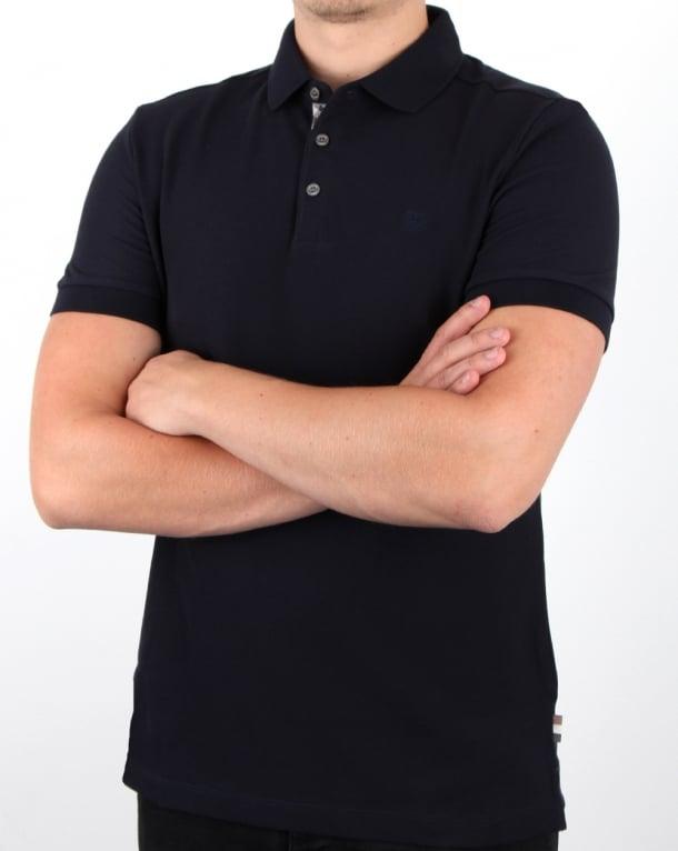 Aquascutum Hillington Polo Shirt Navy