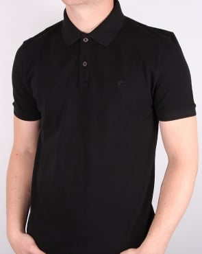 Aquascutum Hilton Polo Shirt Black