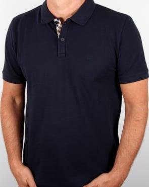 Aquascutum Hilton Polo Shirt Navy