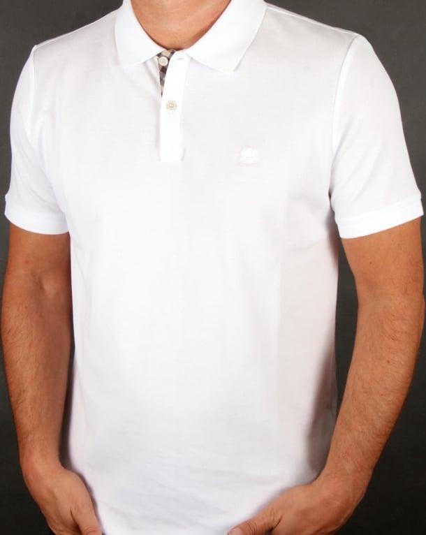 Aquascutum Hilton Polo Shirt White
