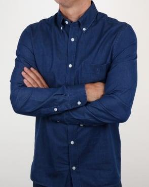 Aquascutum Redmond Denim Shirt Indigo