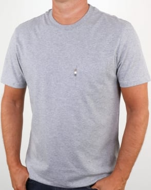 Aquascutum Wilmslow T Shirt Grey