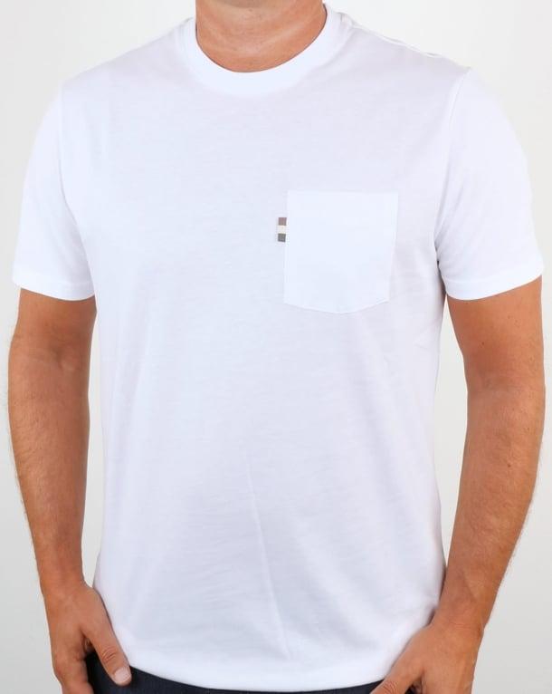 Aquascutum Wilmslow T Shirt White