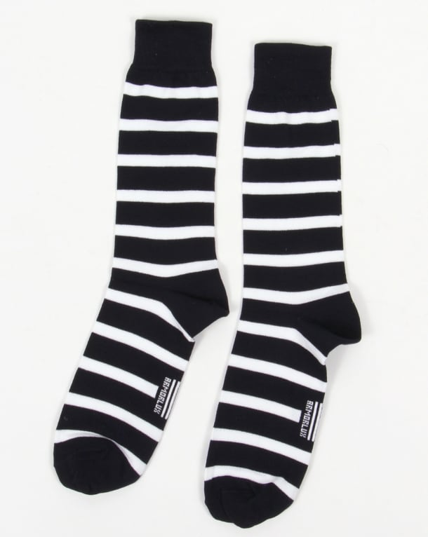Armor Lux Armor-Lux Striped Socks Navy/White