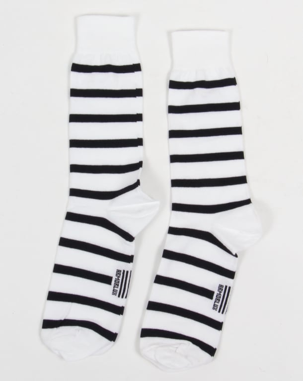 Armor Lux Armor-lux Striped Socks White/Navy