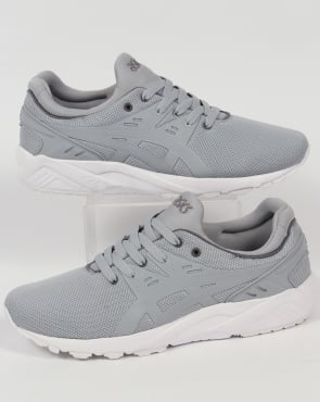Asics Gel Kayano Evo Trainers Mid Grey