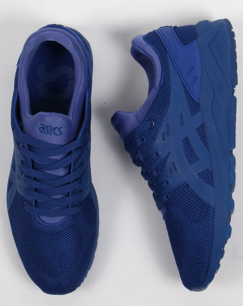 asics gel kayano evo blue