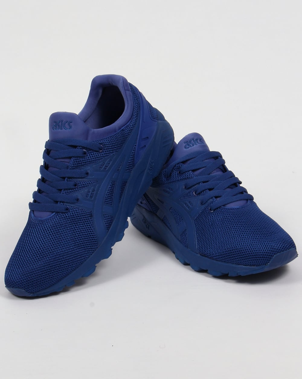 asics blue trainers