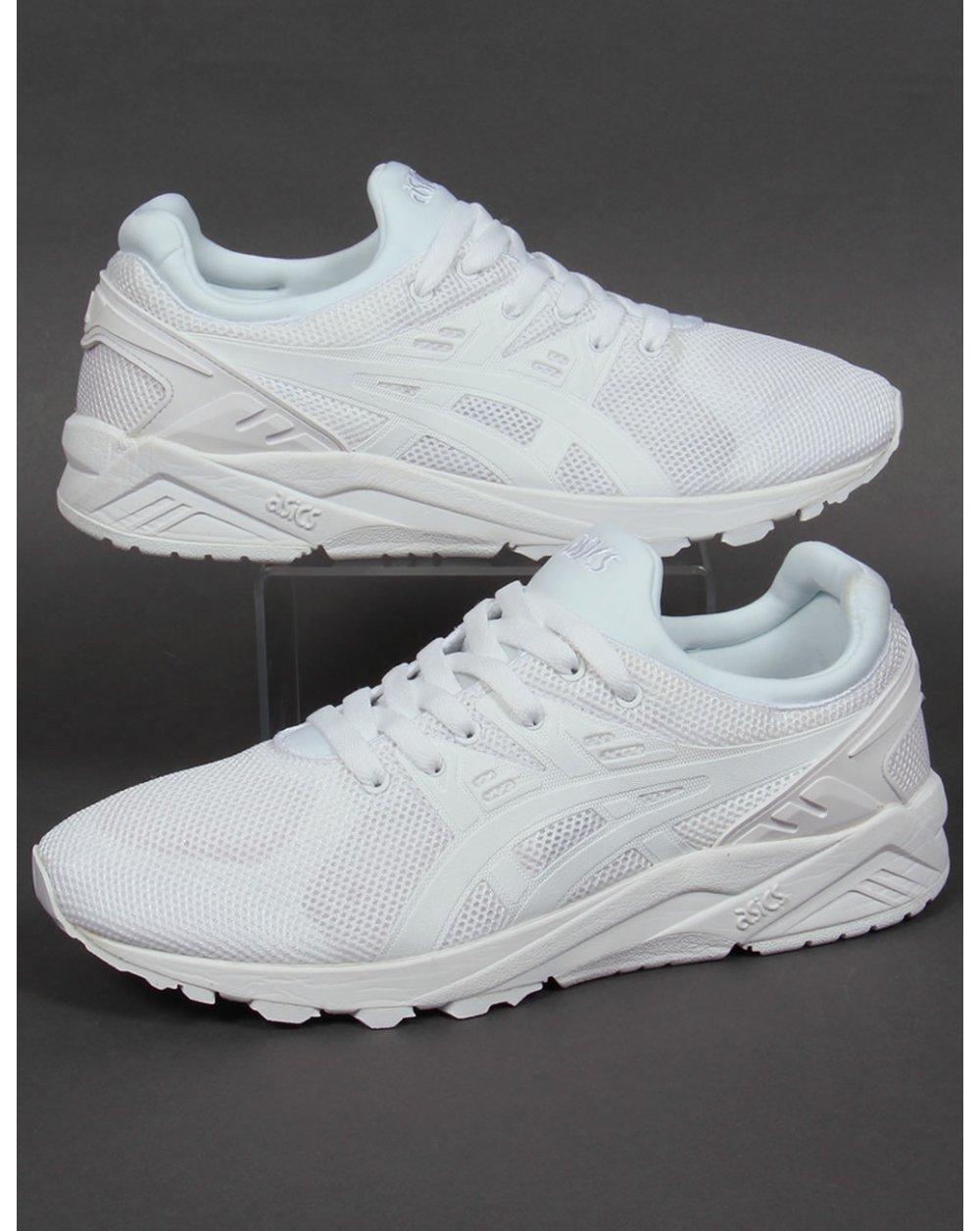asics kayano white evo