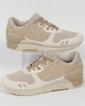 Asics Gel Lyte III NS Trainers Birch/Latte