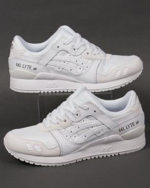 Asics Gel Lyte Iii Suede Trainers White/white