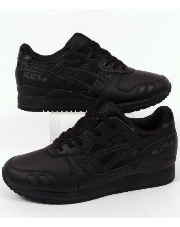 Asics Gel Lyte III Trainers Black/black