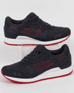 Asics Gel Lyte III Trainers Indian Ink