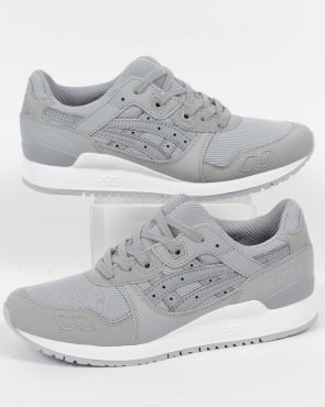Asics Gel Lyte III Trainers Light Grey