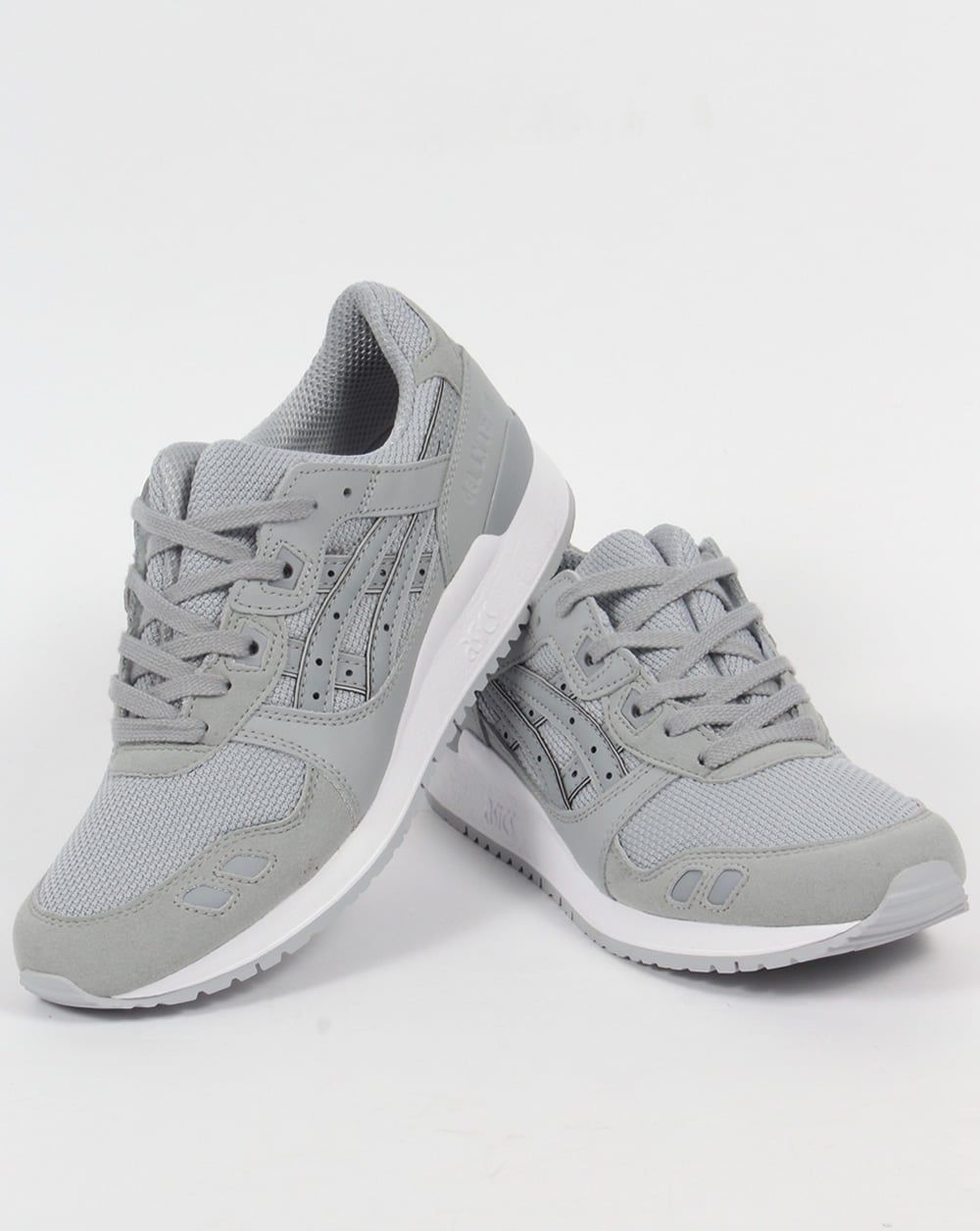 new arrival d15b3 9004c Asics Gel Lyte III Trainers Light Grey