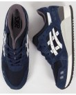 Asics Gel Lyte III Trainers Navy/White