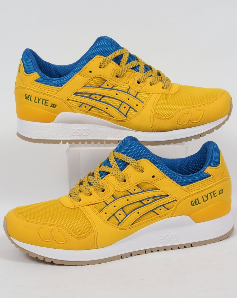 big sale b89e6 4dbb6 Asics Gel Lyte III Trainers Tai-chi Yellow