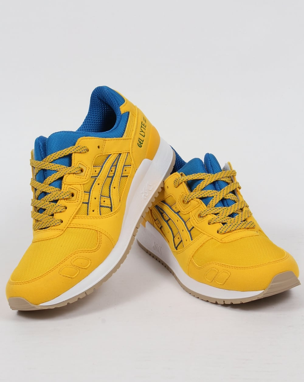 asics gel lyte 3 yellow