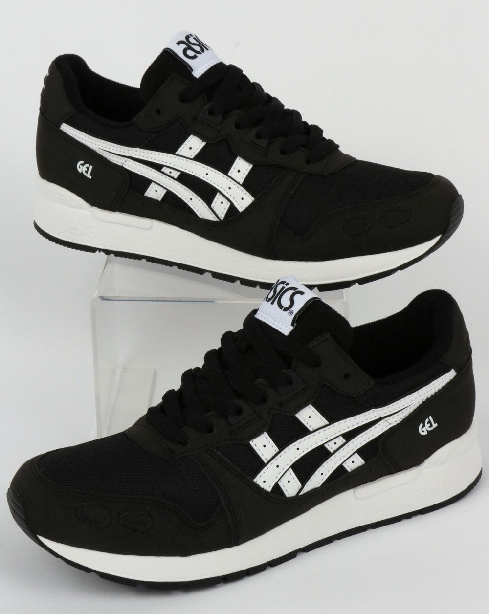 best service 09074 65961 Asics Gel-Lyte Trainers Black/White