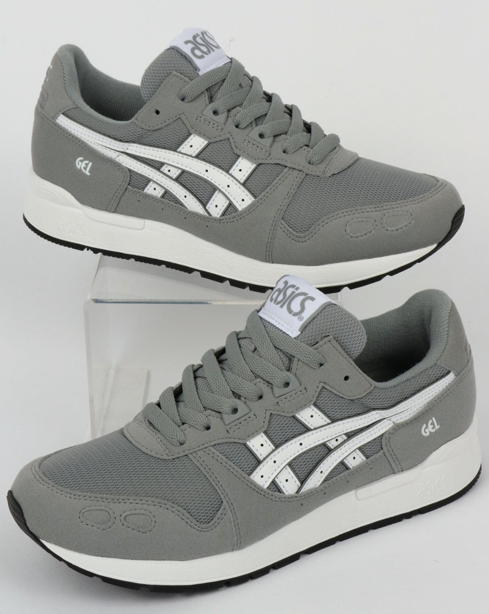 premium selection c9b7a 70d3d Asics Gel-Lyte Trainers Stone Grey/White