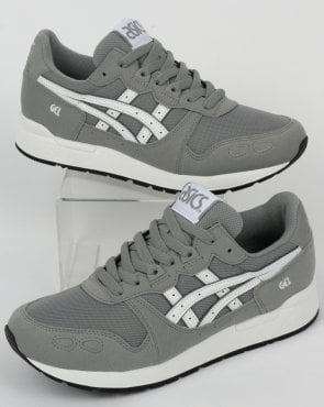 Asics Gel-Lyte Trainers Stone Grey/White