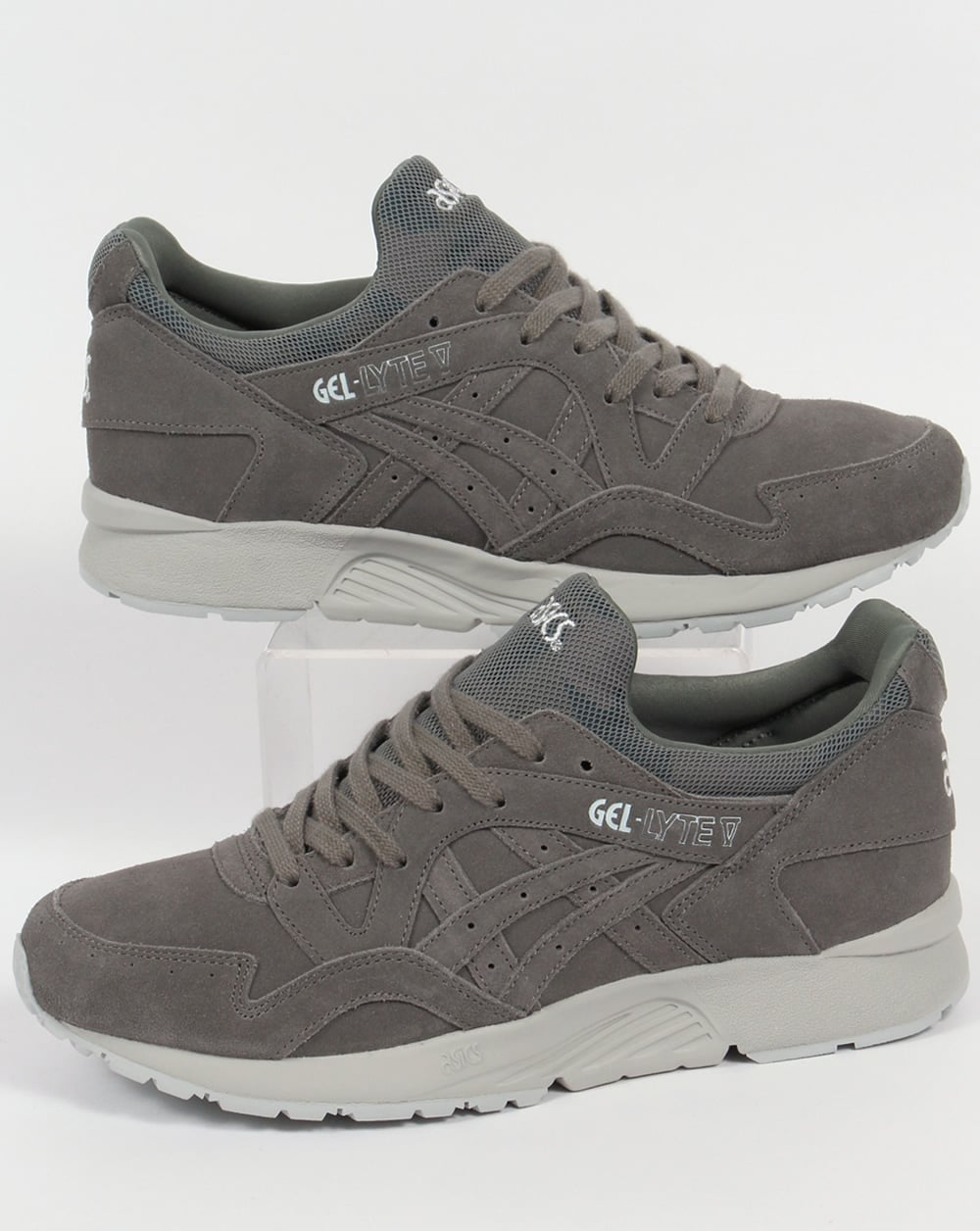 reputable site 18611 9b32a Asics Gel Lyte V Trainers Agave Grey